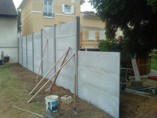 Mur de cl ture paris osny versailles yvelines 95 val d 39 oise - Renovation mur exterieur ...